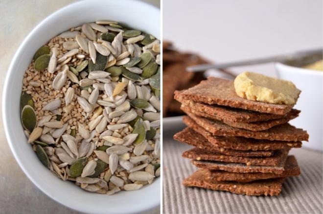 Sementes // Crackers de sementes