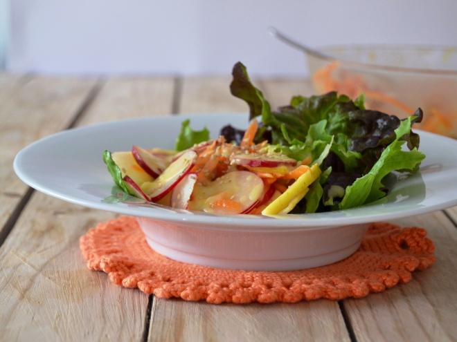 Salada de rabanetes