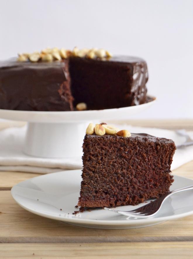 Bolo de chocolate vegan / Vegan chocolate cake