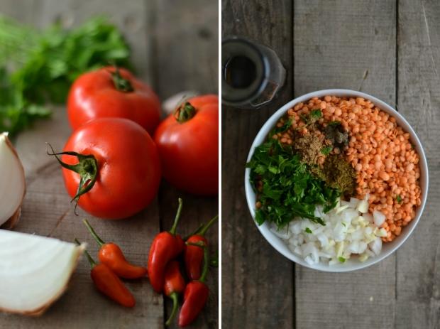Lentil falafels with tomato hot sauce | Compassionate Cuisine
